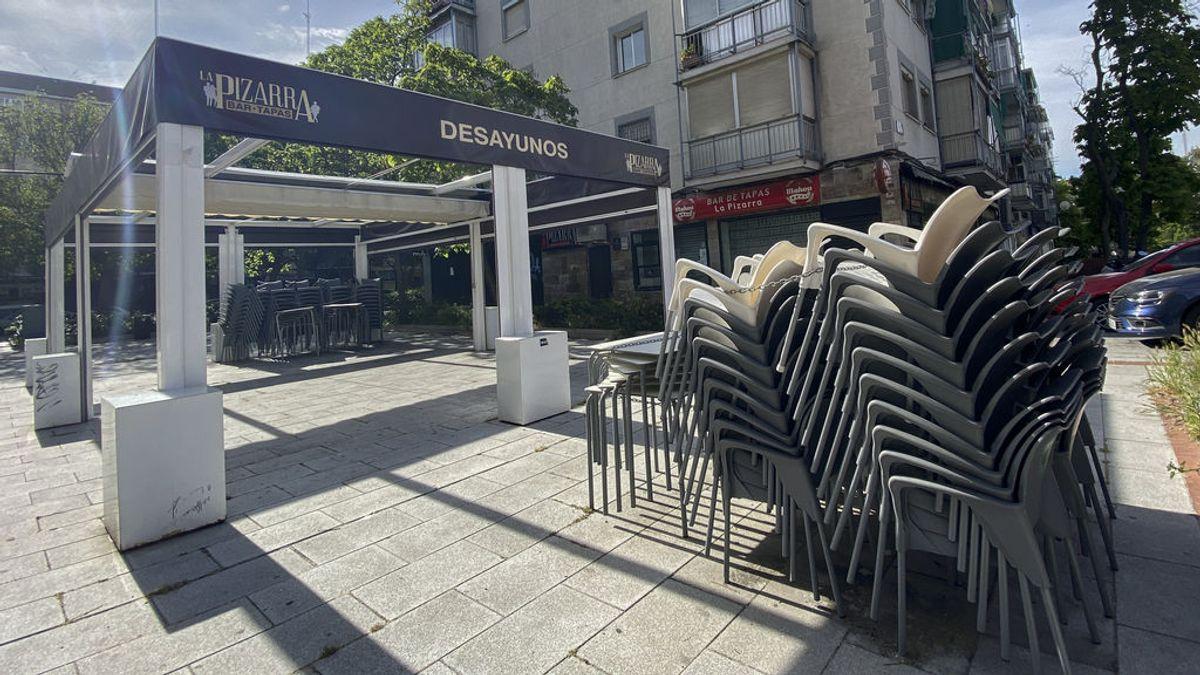Las terrazas de Madrid podrán extenderse toda la fachada del edificio de su local y los colindantes