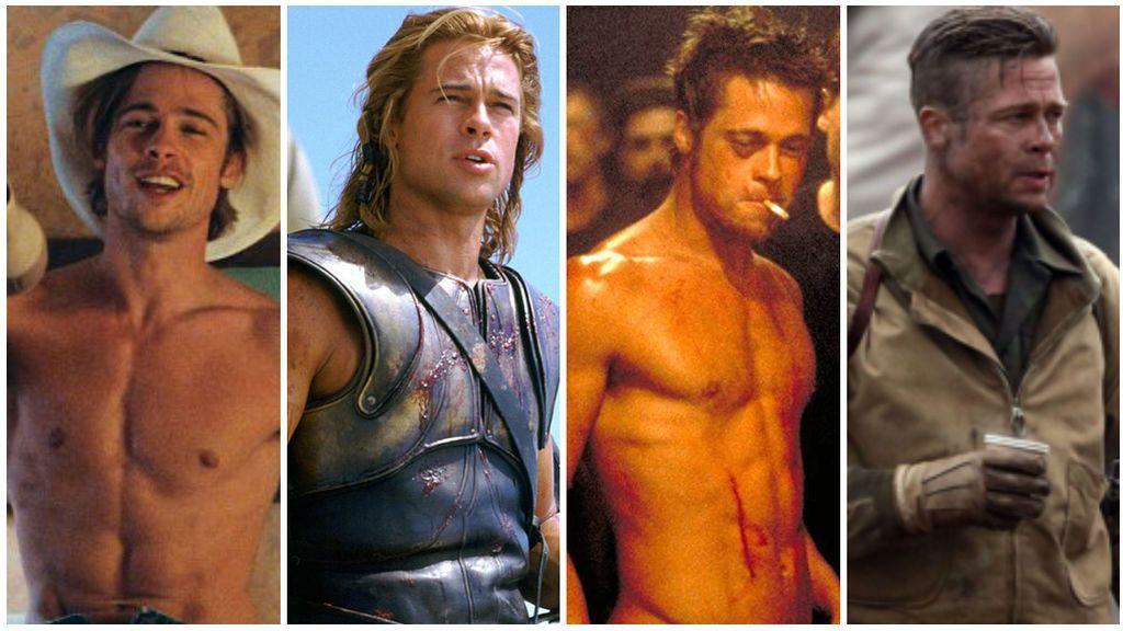 Brad Pitt: recordamos las escenas más 'hot' de su filmografía.
