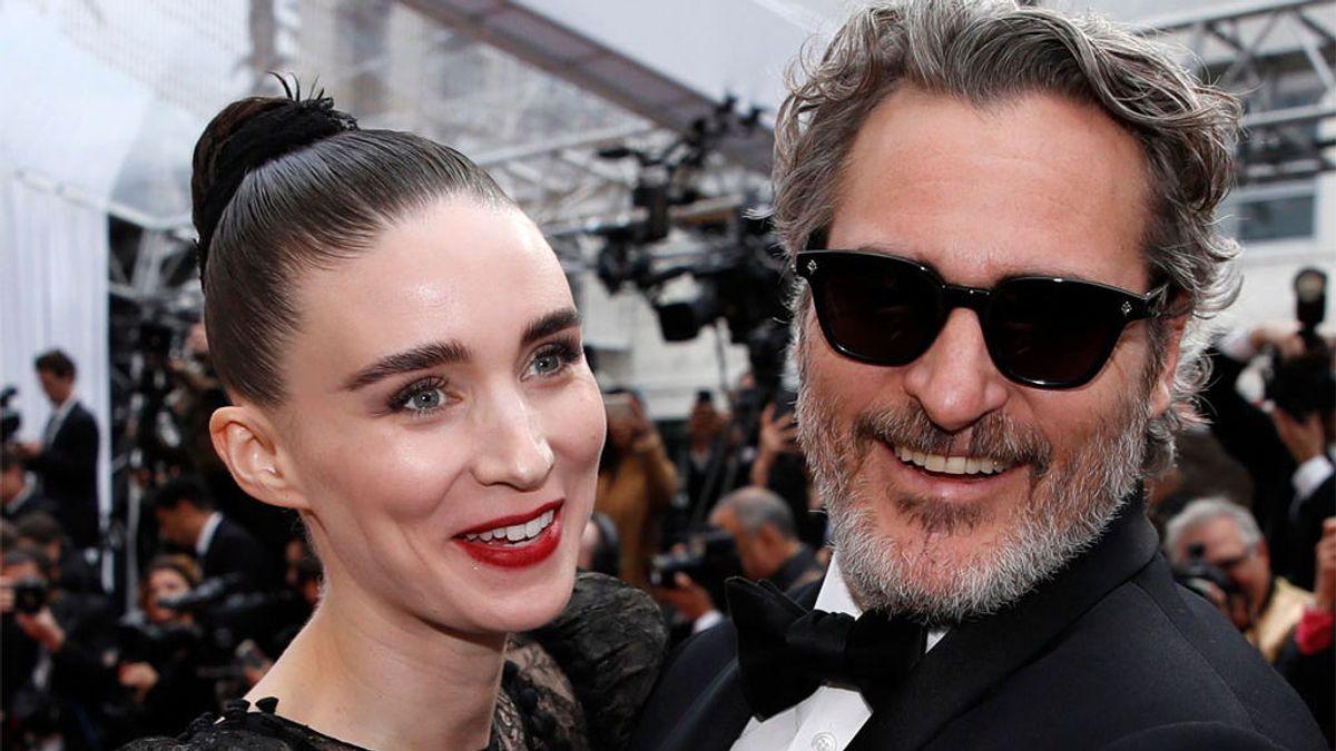 Joaquin Phoenix y Rooney Mara, en los Óscar 2020
