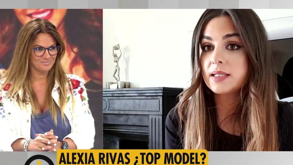 Marta López opina sobre la faceta de modelo de Alexia Rivas