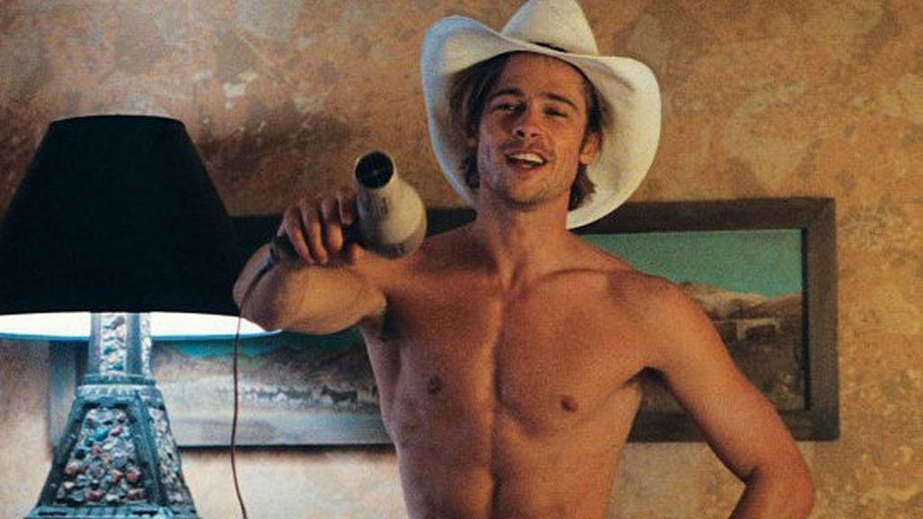 Brad Pitt en 'Thelma & Louise'.