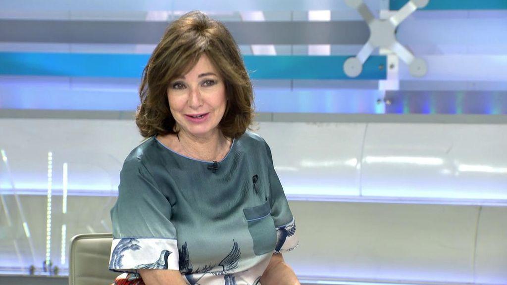 Ana Rosa no puede contener la risa al acordarse del cuadro torcido de Pilar García de la Granja