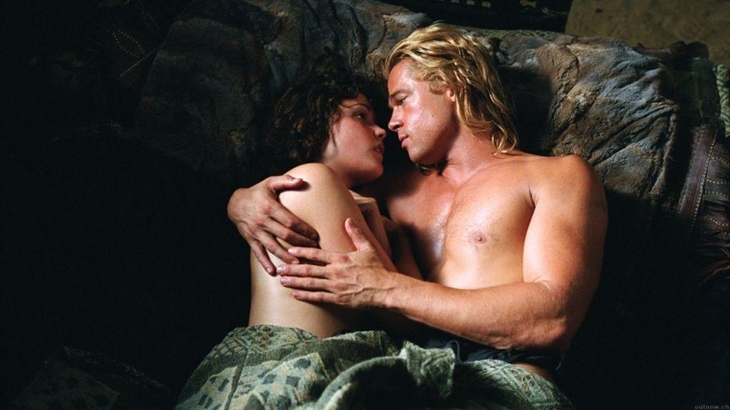 Brad Pitt en 'Troya'.