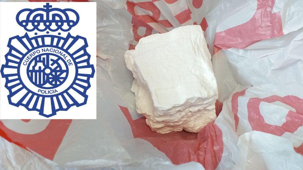 Una empresa de Lugo recibe dos tabletas de cocaína por un error de la mensajería