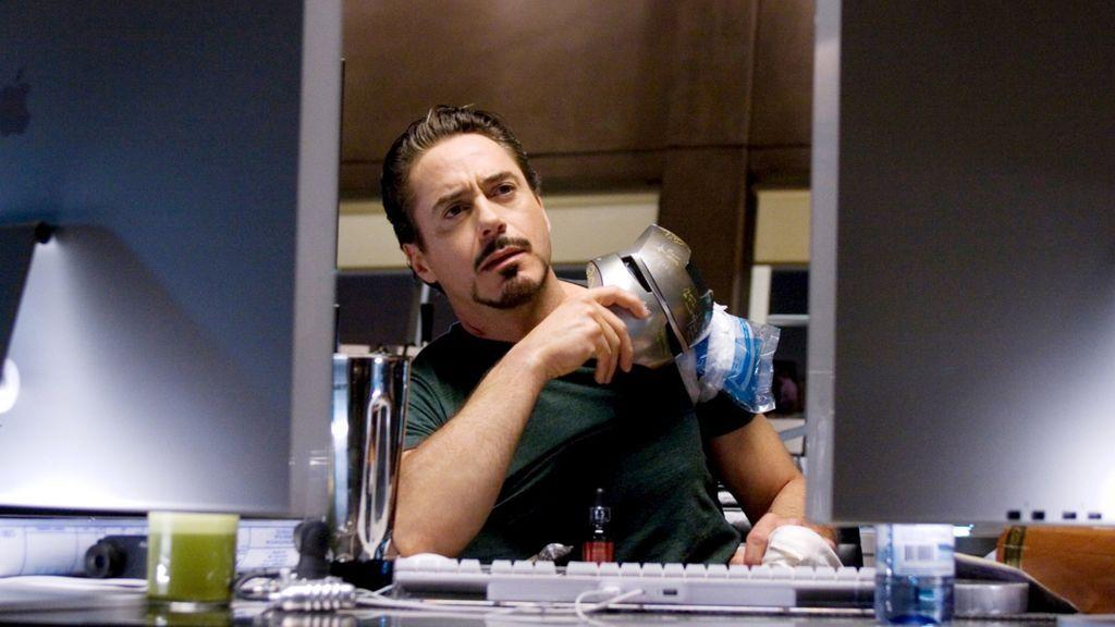 En 'Iron Man' protagoniza a Tony Stark