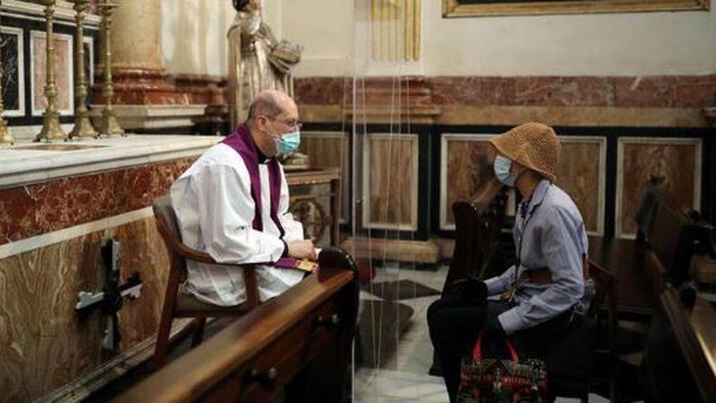 Confesión en tiempos de coronavirus