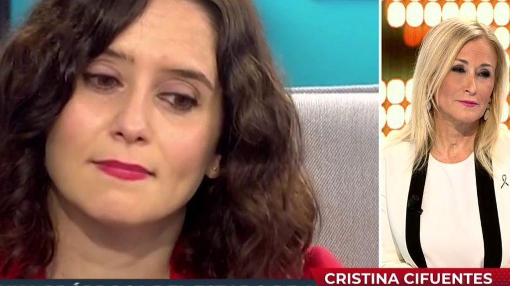 Cristina Cifuentes justifica el 'descuadre' de contagiados en Madrid: