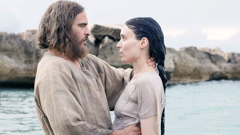 Joaquin Phoenix y Rooney Mara, en 'María Magdalena'