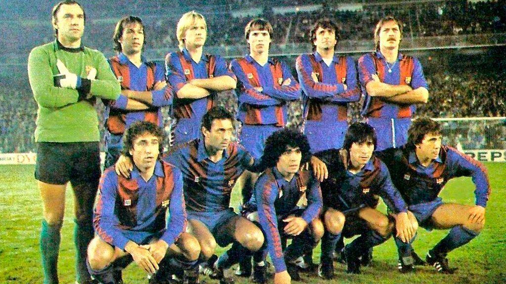 Jugadores míticos de fútbol de los años 80