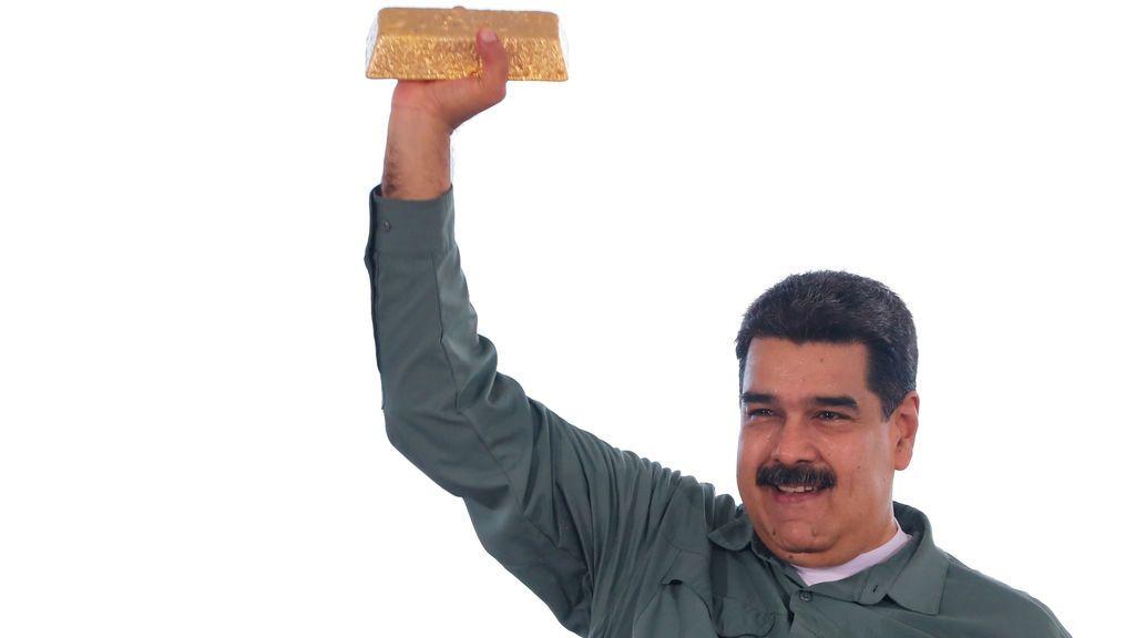 """Venezuela acusa al Banco de Inglaterra de """"robarle"""" el oro"""