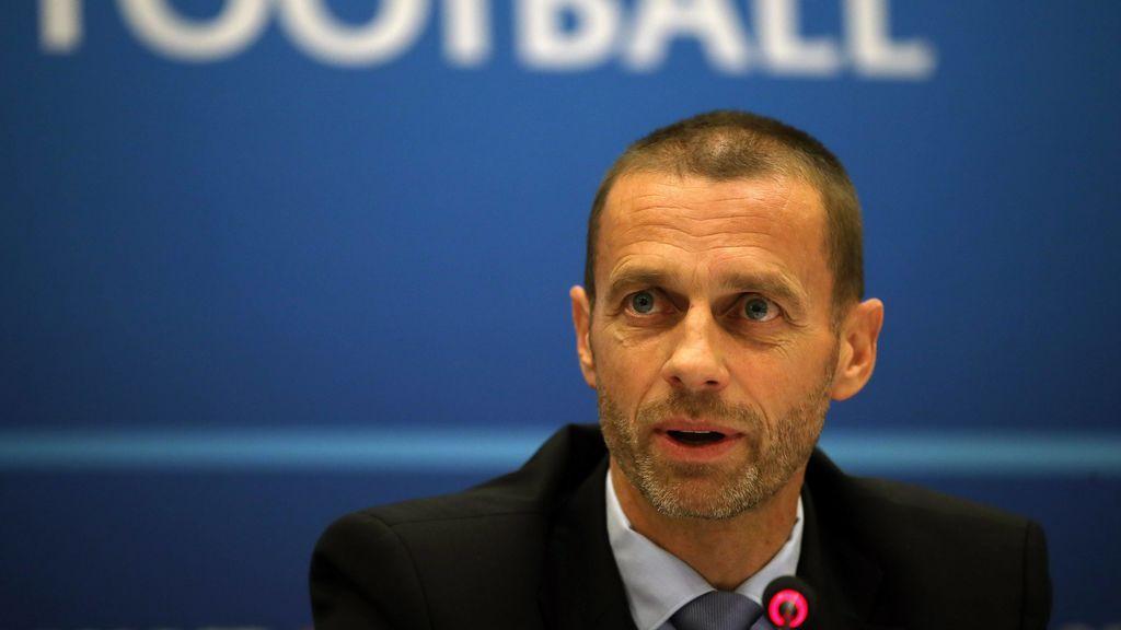 """Ceferin asegura que """"el fútbol con aficionados volverá muy pronto"""" pero no da fecha del regreso del público a los estadios"""
