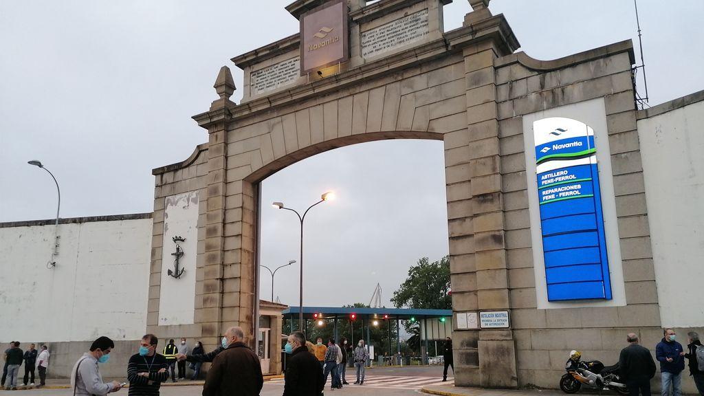 Navantia en Ferrol
