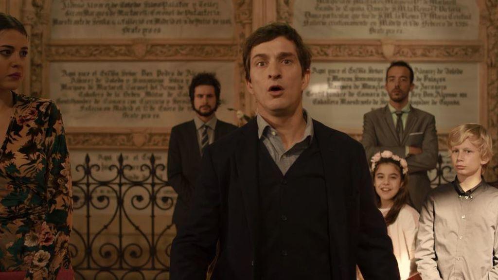 """Massimo irrumpe en la iglesia y declara su amor a Candela: """"Eres lo único que quiero"""""""