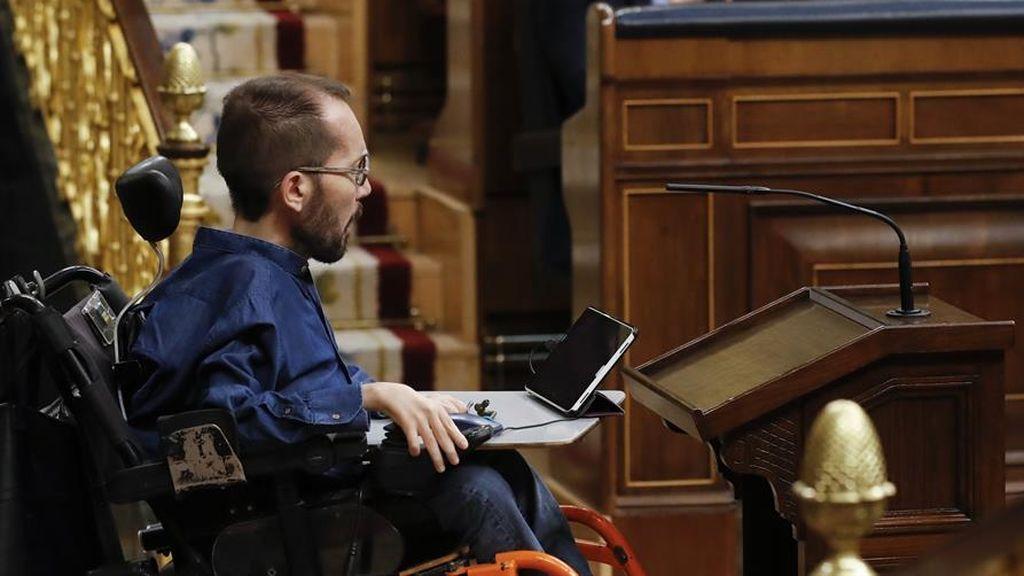 El diputado de Podemos, Pablo Echenique