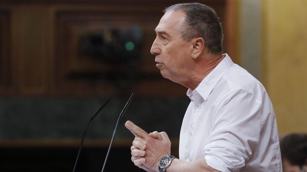 """vota por primera vez en contra del estado de alarma """"decepcionado"""" con Sánchez"""