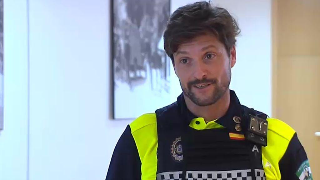 Mario Tinoco Paredes, policía local de Sevilla