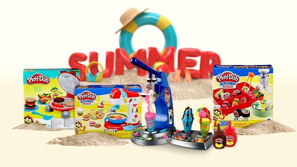 La cocina creativa de Play-Doh: tu creación más original puede hacerte conseguir un lote de productos