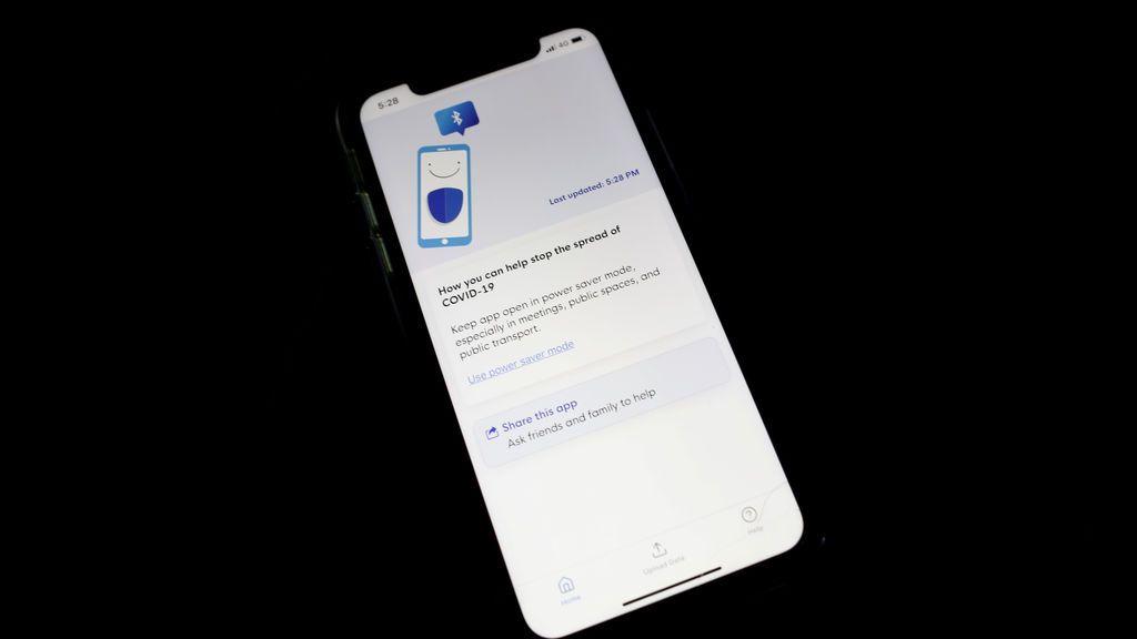 La app para el rastreo de contactos de Singapur