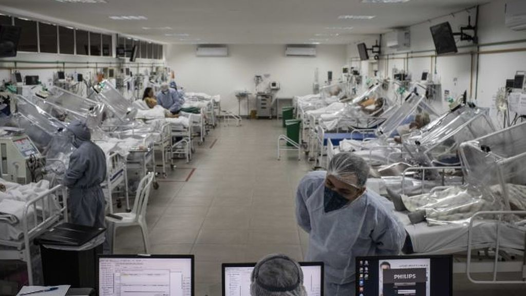 106.000 casos de coronavirus en 24 horas: el mayor número en un día desde que comenzó la pandemia