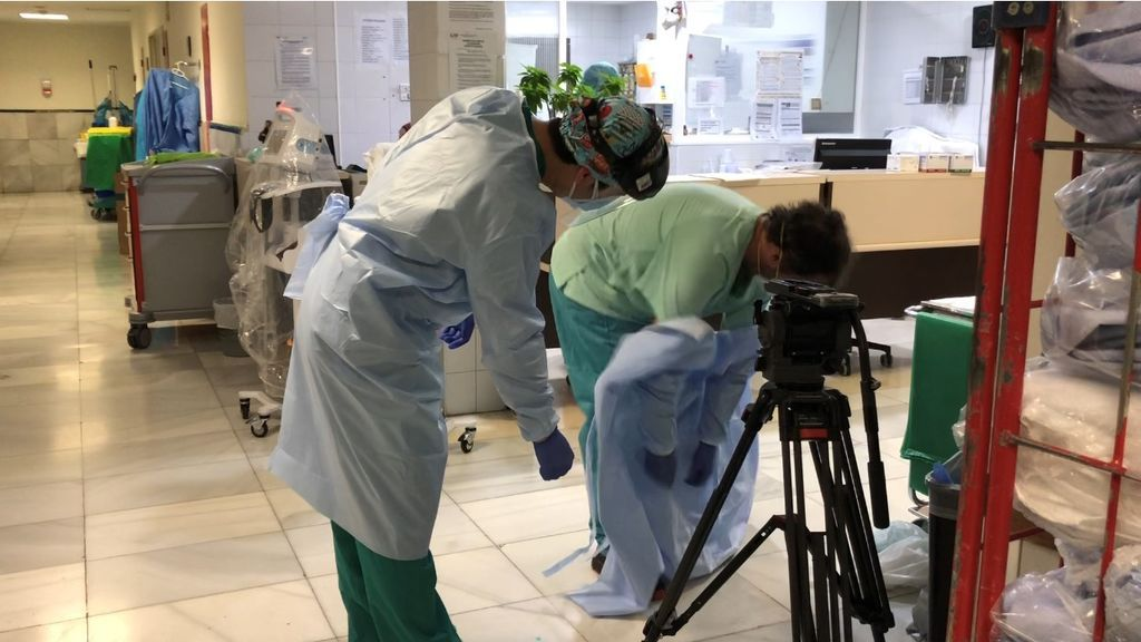 NIUS entra al hospital Gregorio Marañón