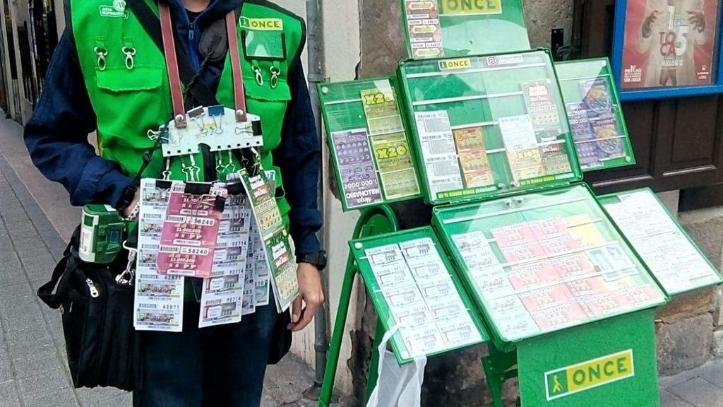 La ONCE vuelve a vender los cupones en la calle el 15 de junio