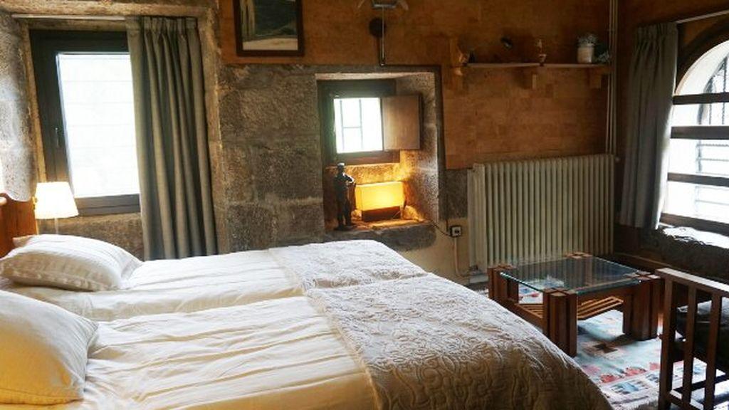 Habitación de la casa rural 'El Molino de Alli'