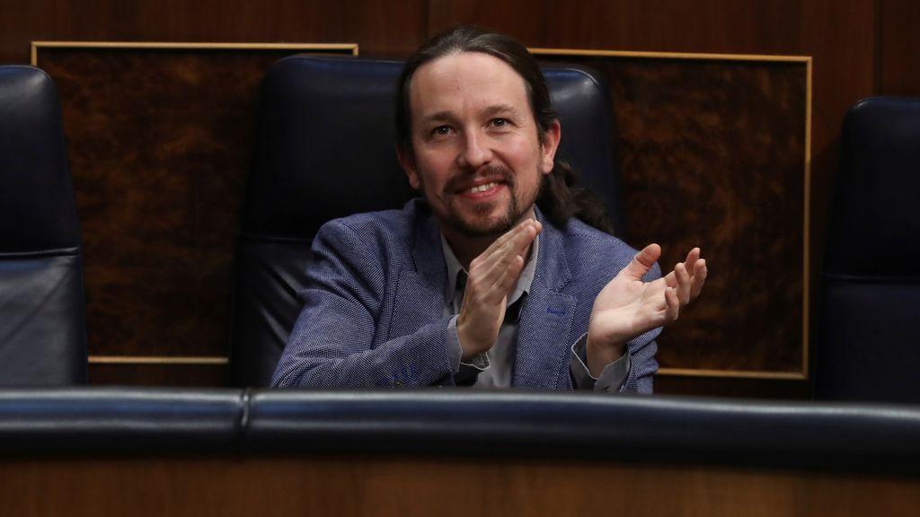Pablo Iglesias, reelegido como secretario general de Podemos