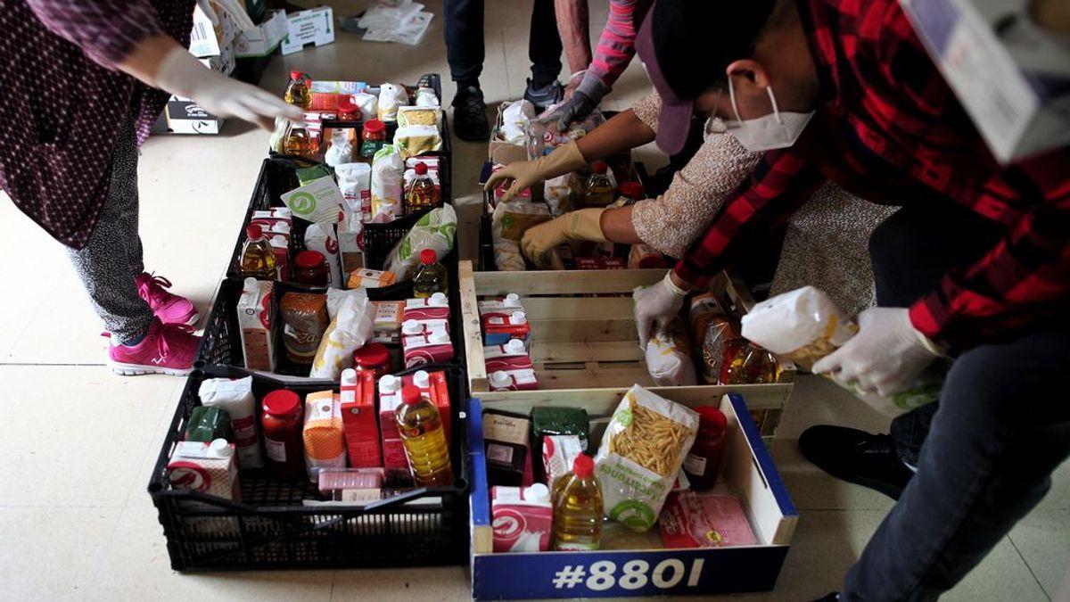 Donaciones 'online' de alimentos: cómo hacerlas desde casa
