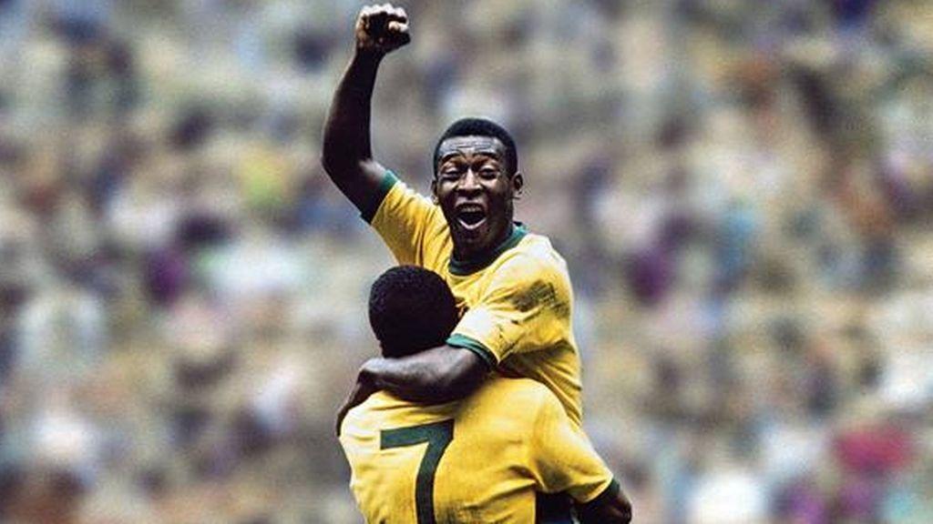 Pelé en el Mundial 70