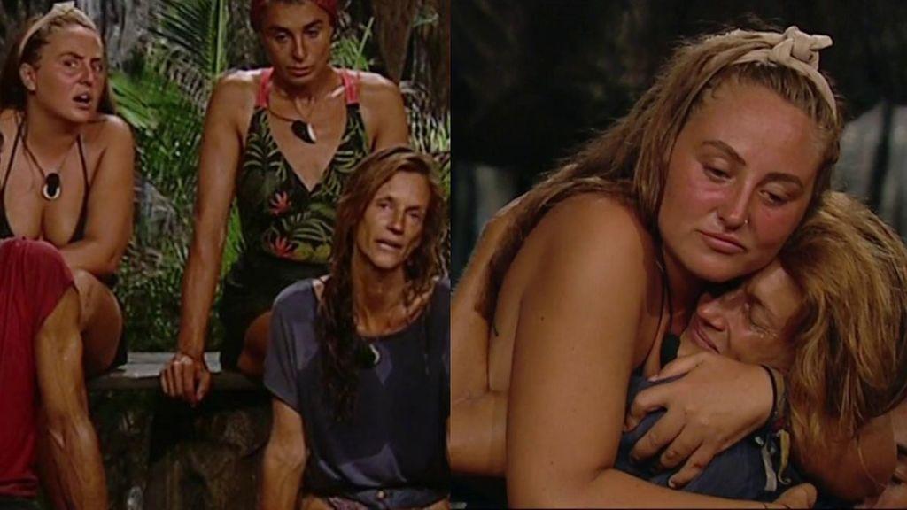 """Rocío y Elena consiguen hacer las paces a pesar de volver a tener un desencuentro en la Palapa: """"Al final le tengo cariño"""""""