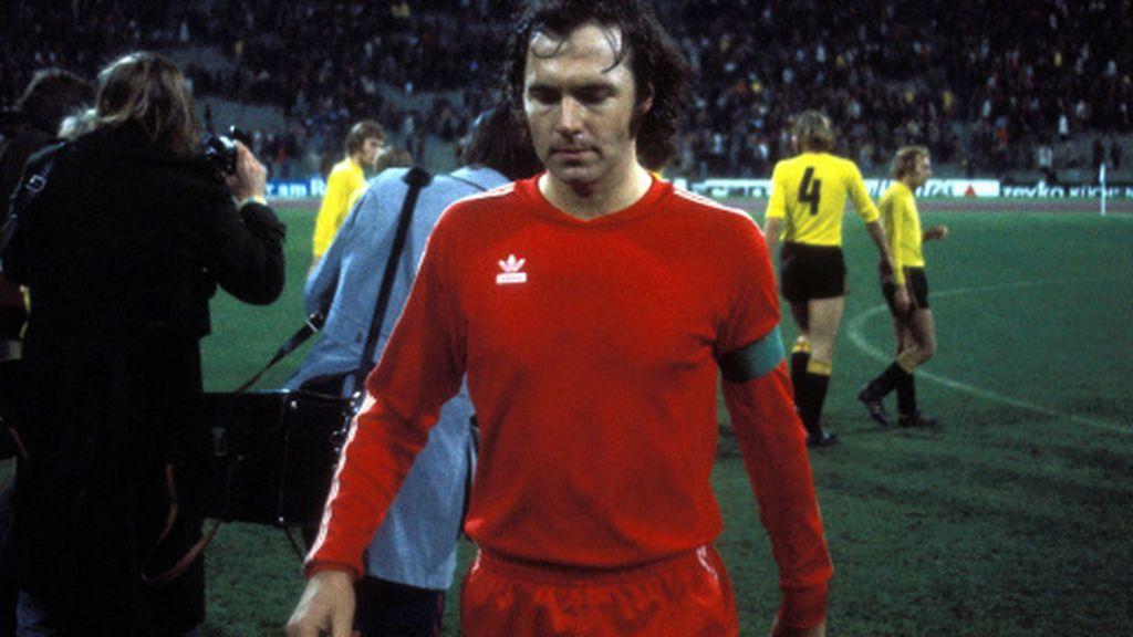 Beckenbauer en un partido