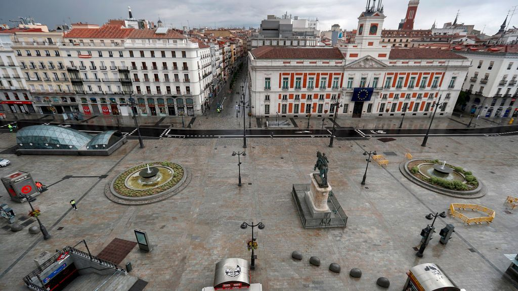 La Justicia avala una concentración del Partido Comunista en la Puerta del Sol de Madrid