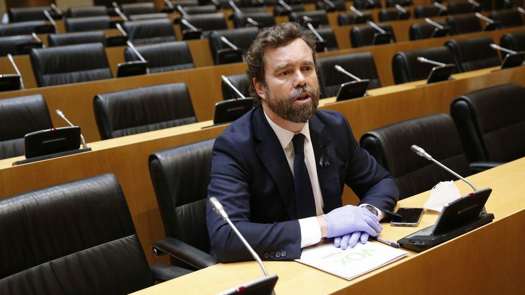 Vox deja de los grupos de trabajo de la  Comisión para la Reconstrucción tras el pacto entre Gobierno y Bildu