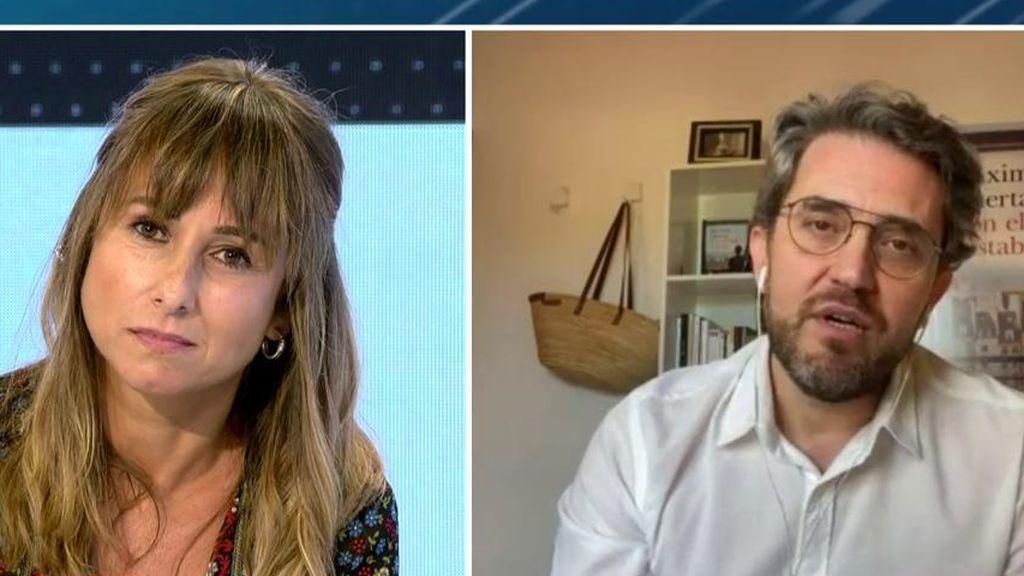 El 'pique' de Máximo Huerta con Ana Pardo de Vera y el 'zasca' a Miguel Lago