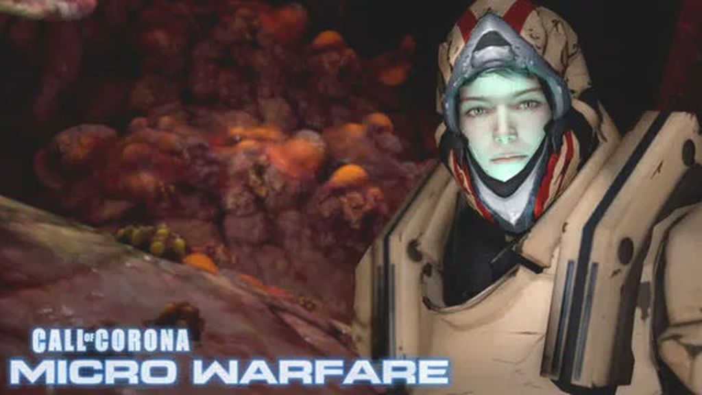 Carmen Fortea en 'Call of Corona: Micro Warfare'