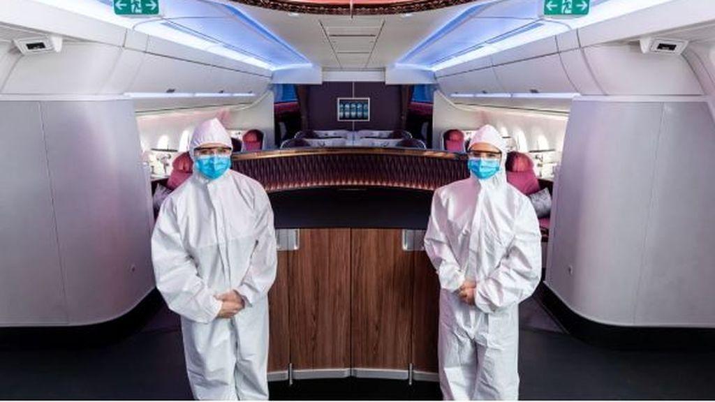 Qatar Airways, sus tripulaciones