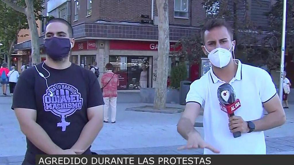 """Distrito 14, de Moratalaz, también denuncia: """"A un compañero le agredieron en la cara con una cacerola"""""""