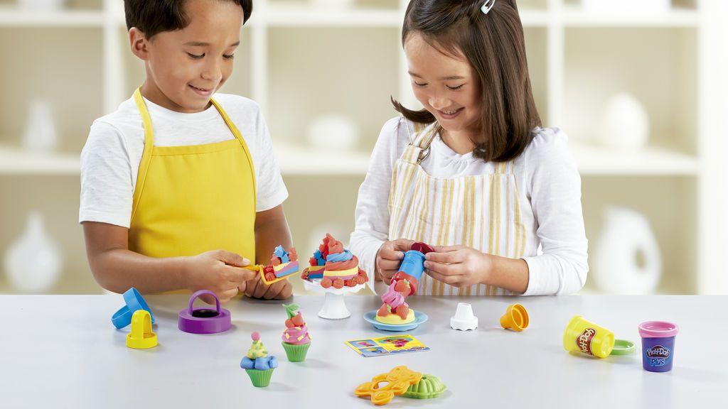Conviértete en el chef más creativo: haz tu propio sushi, hamburguesas y helados de plastilina de mil colores