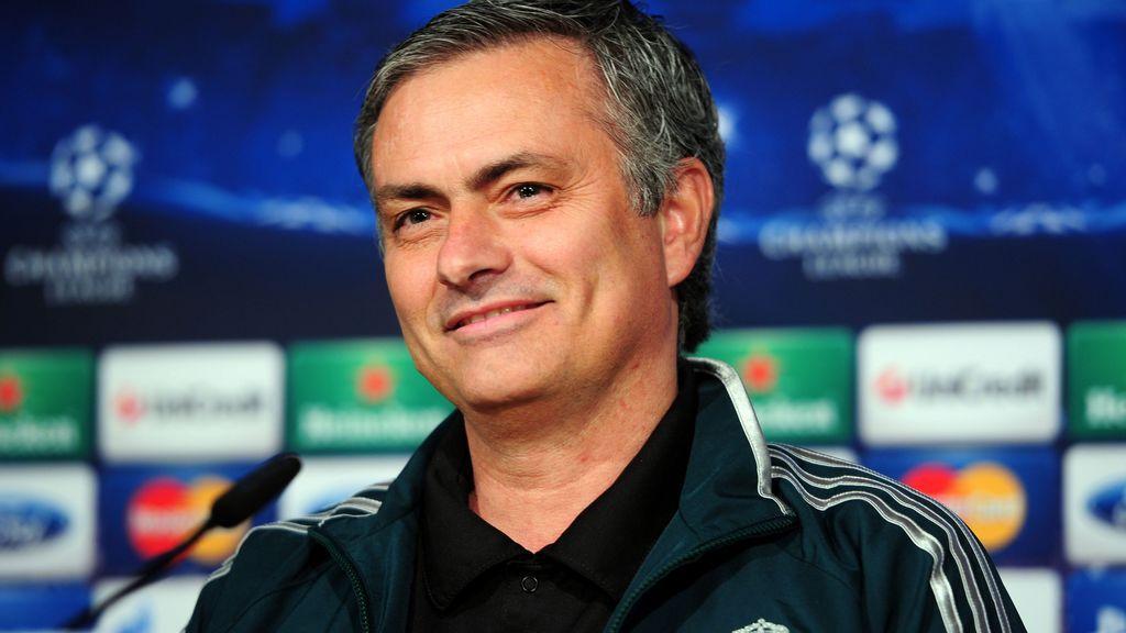Mourinho, durante su etapa en el Real Madrid.