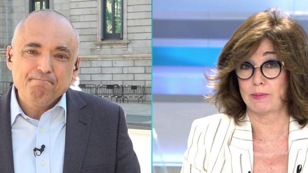 """Ana Rosa condena los ataques a Idoia Mendia: """"Me imagino cómo se encuentra tras la firma con Bildu"""""""