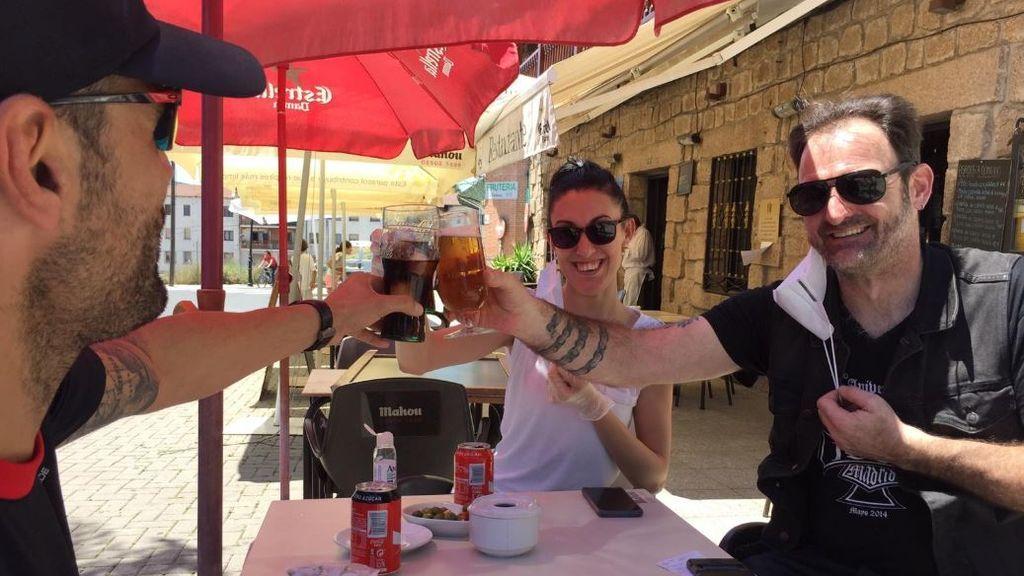 Manzanares el Real: fin de semana para los vecinos a la espera del desembarco de los madrileños