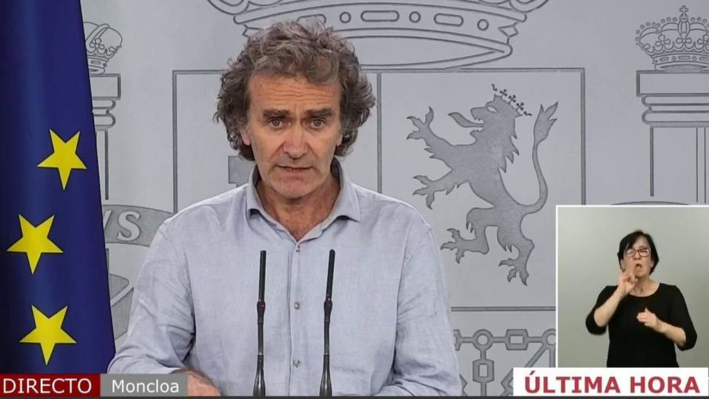 """Fernando Simón: """"Estamos cerca de alcanzar niveles de contagio indetectables"""""""