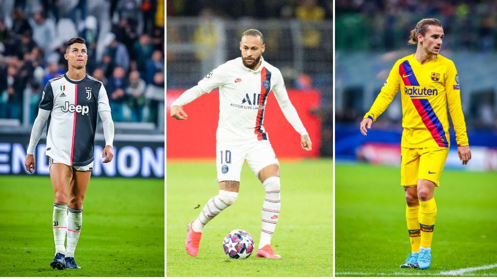 Griezmann, Neymar y Cristiano Ronaldo: el trueque de jugadores que puede romper el mercado este verano