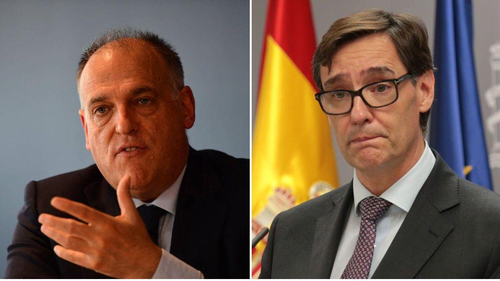 Javier Tebas duda que LaLiga regrese el 12 de junio y deja la decisión en manos del Ministerio de Sanidad