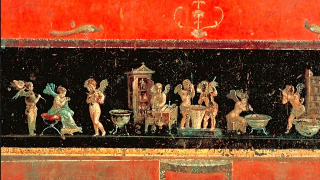 Flores y aceitunas prensadas: arqueólogos españoles descubren en Pompeya perfumes de la Antigua Roma