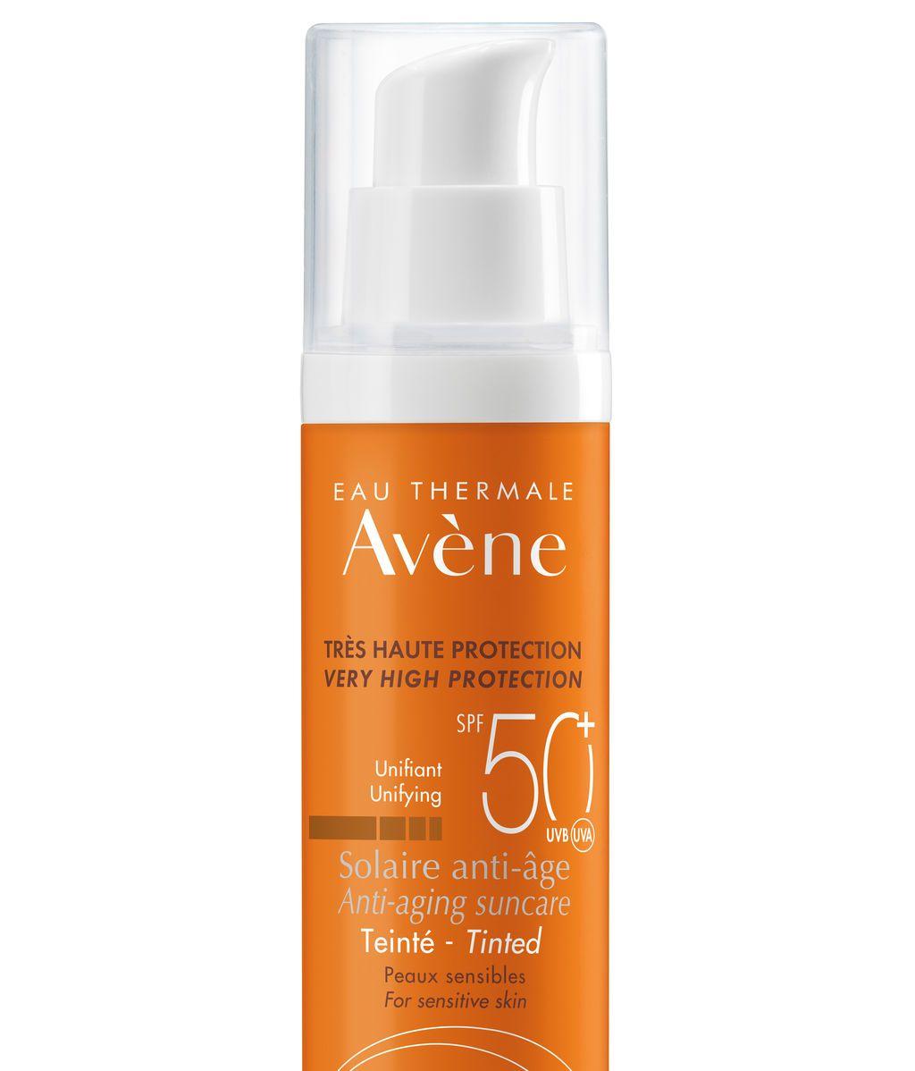 AVENE SOLAIRE-50ml-ANTI-AGE-TEINTE-50+