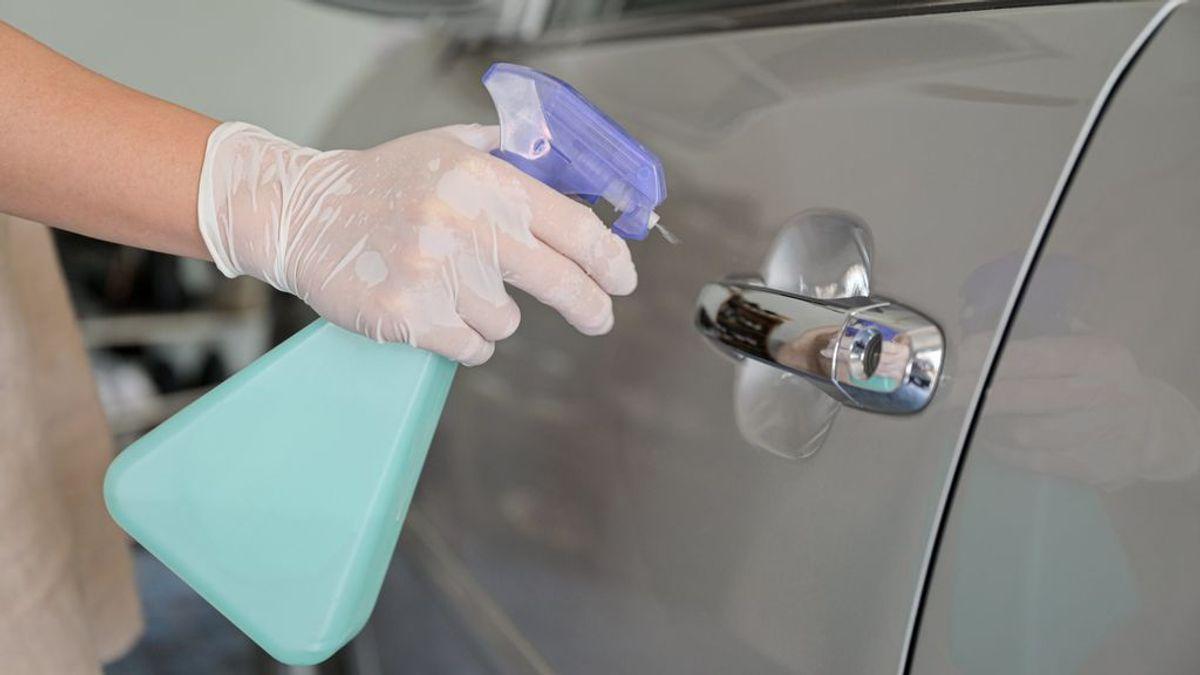 Cómo desinfectar el vehículo de ante el posible riesgo de coronavirus