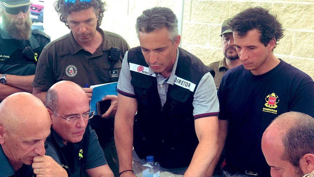 """Carlos Novillo, Director de la agencia de seguridad y emergencias 112 en la Comunidad de Madrid : """"La prioridad era salvar vidas"""""""