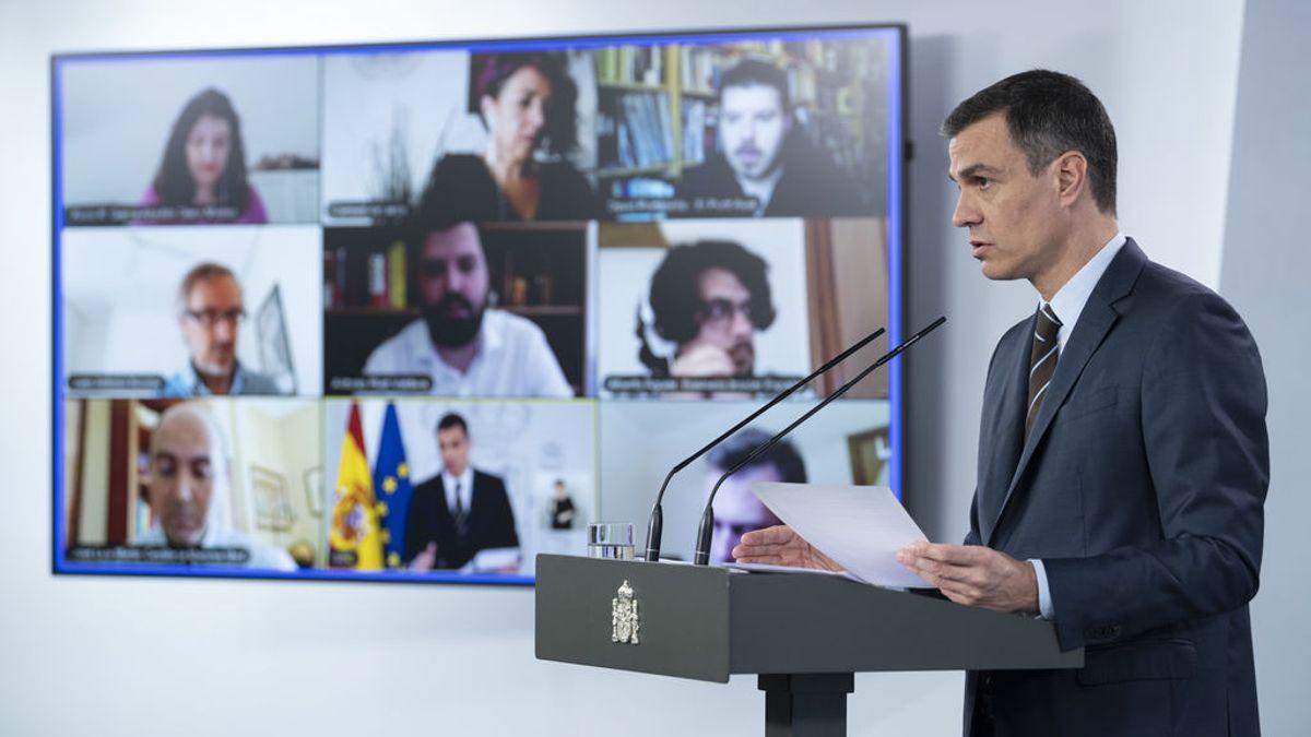 Sánchez anuncia la vuelta del fútbol, del turismo y el ingreso mínimo vital a partir de junio