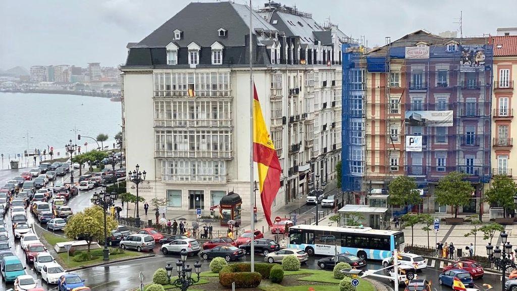 Protestas en Santander